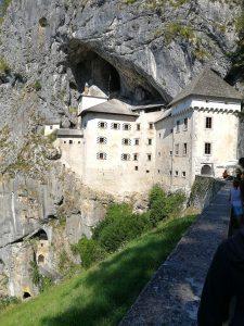 Predjama castle near Postojna