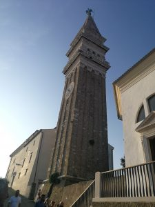 Saint George church in Piran